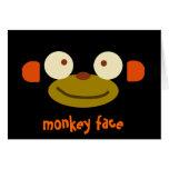 ¡Cara del mono! Tarjetón