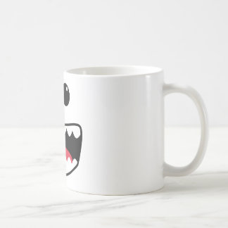 Cara del monstruo taza de café