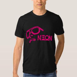 Cara del neón - RetroMe - camiseta (rosa) Playera