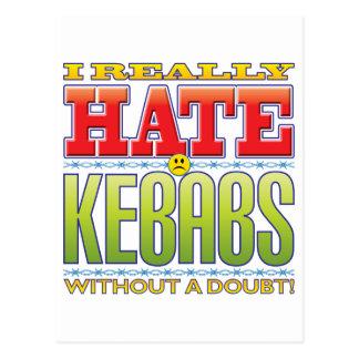 Cara del odio de Kebabs Postal