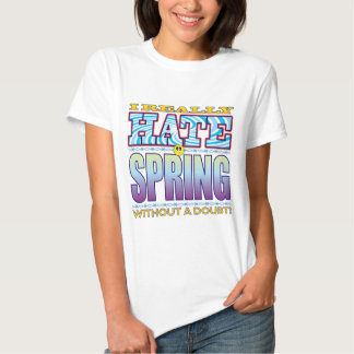 Cara del odio de la primavera playera