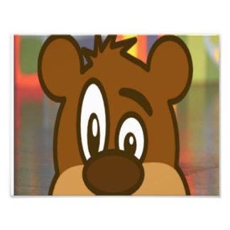 Cara del oso de Brown Fotografias