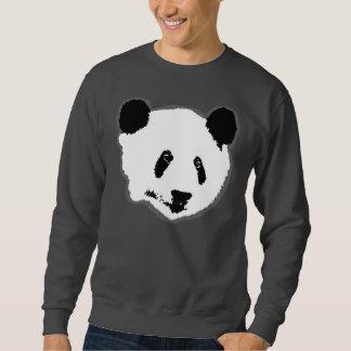 Cara del oso de panda sudaderas encapuchadas