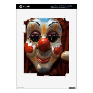 Cara del payaso iPad 3 pegatinas skins