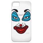Cara del payaso iPhone 5 cárcasas