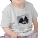 Cara del perrito del caniche de Parti del juguete Camisetas