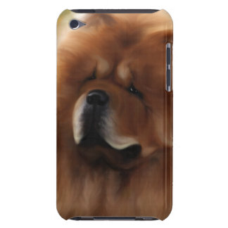 Cara del perro chino de perro chino barely there iPod fundas