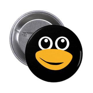 cara del pingüino pin