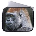 Cara del primer del gorila de la tierra baja del G Fundas Ordendadores