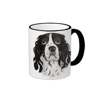 Cara del saltador taza de café