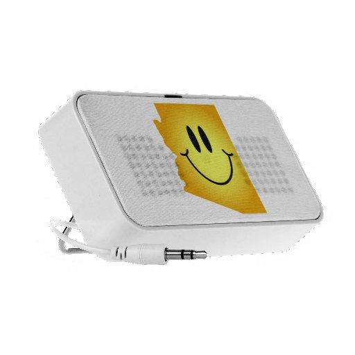 Cara del smiley de Arizona Notebook Altavoz