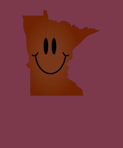Cara del smiley de Minnesota Camiseta