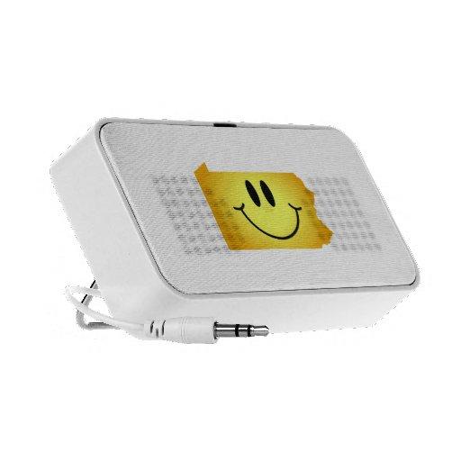 Cara del smiley de Pennsylvania iPod Altavoces