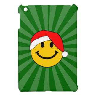 Cara del smiley de Santa del navidad