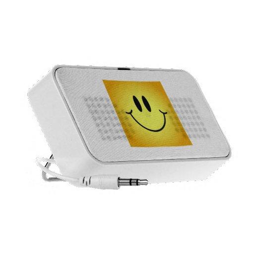 Cara del smiley de Wyoming iPhone Altavoz