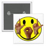 CARA DEL SMILEY DEL ASL LOL PINS