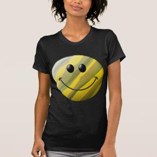 Cara del smiley del camuflaje camisetas