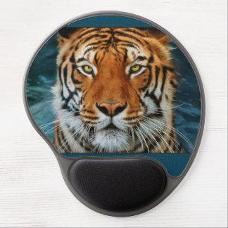 Cara del tigre alfombrilla gel