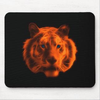 Cara del tigre alfombrillas de ratón