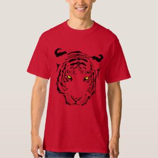 Cara del tigre camisas