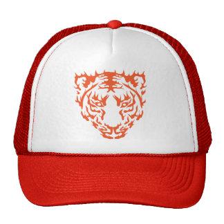 Cara del tigre gorro