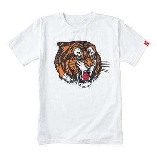 Cara del tigre playera zazzle HEART