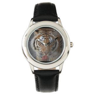 Cara del tigre relojes de mano