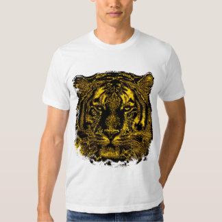 Cara del tigre remera