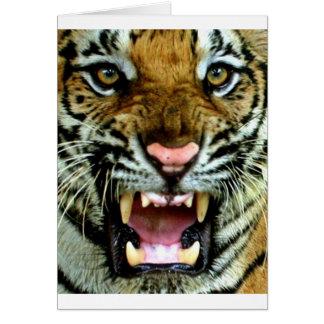 cara del tigre felicitaciones
