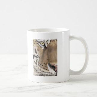 Cara del tigre taza