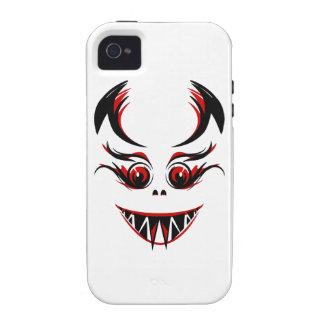 Cara del vampiro/del monstruo/del demonio con los  iPhone 4/4S carcasa