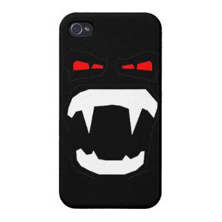 Cara del vampiro iPhone 4 carcasas