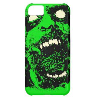 Cara del zombi de la descomposición