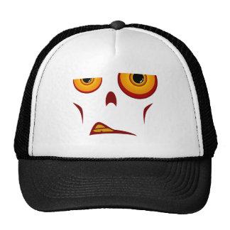 Cara del zombi - gorra del camionero del gruñido