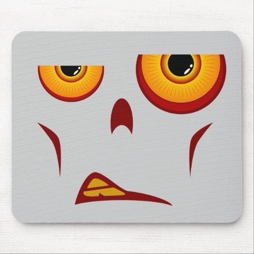 Cara del zombi - gruñido Mousepad