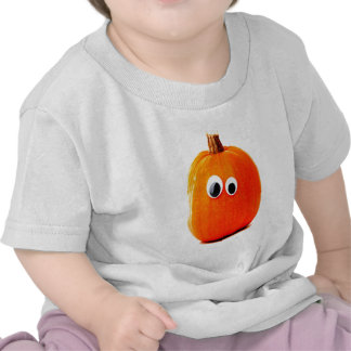 cara divertida de la calabaza camisetas