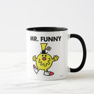 Cara divertida de Sr. Funny el  