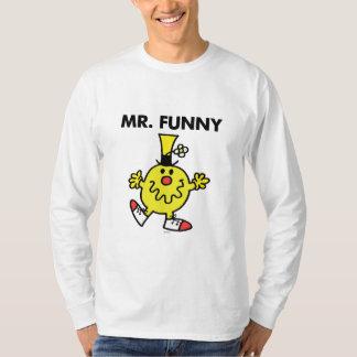 Cara divertida de Sr. Funny el | Playera