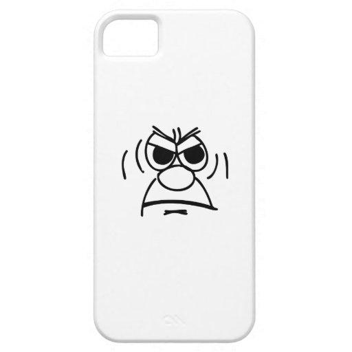 Cara divertida iPhone 5 carcasa