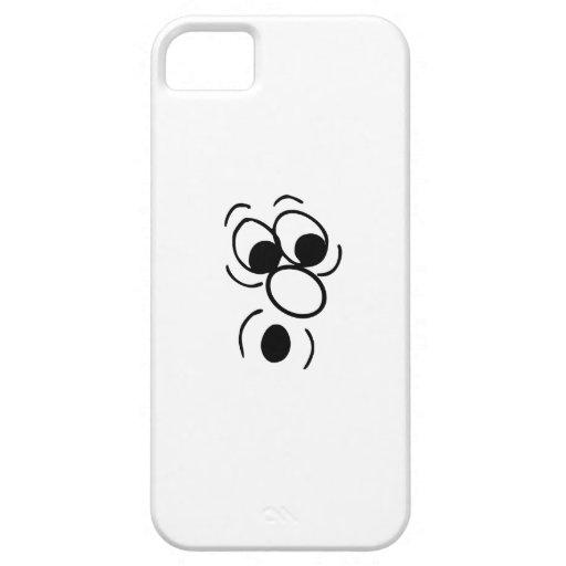 Cara divertida iPhone 5 Case-Mate funda