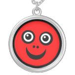 Cara divertida - rojo grimpolas personalizadas
