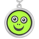 Cara divertida - verde joyeria personalizada