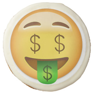 Cara Emoji de la Dinero-Boca