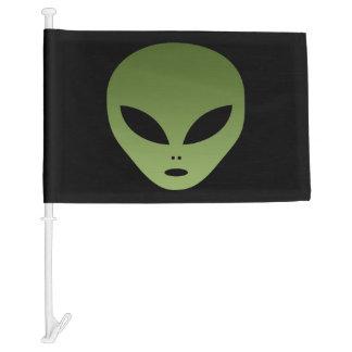 Cara extranjera extraterrestre