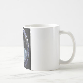 Cara fantasma 1 taza clásica