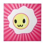 Cara feliz del huevo de Kawaii