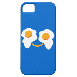Cara feliz del huevo funda para iPhone 5 barely there