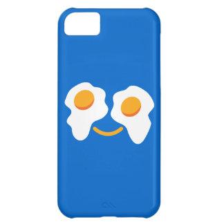Cara feliz del huevo funda para iPhone 5C