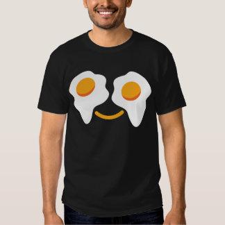 Cara feliz del huevo remeras