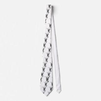 Cara feliz del Schnauzer Corbatas Personalizadas